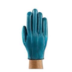 AnsellPro Hynit Nitrile Gloves, Blue, Size 7 1/2, Dozen