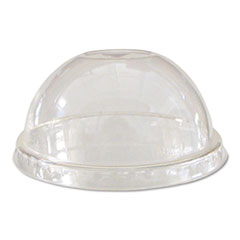 Eco-Products® GreenStripe Renew & Comp Cold Cup Dome Lids, Fits 9-24oz., 100/PK, 10 PK/CT