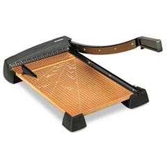 X-ACTO® Heavy-Duty Wood Base Guillotine Trimmer
