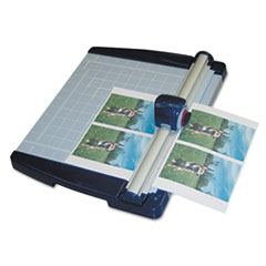 "Metal Base Rotary Trimmer, 10 Sheets, 11"" X 12"""