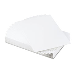 CFC-Free Polystyrene Foam Board, 20 x 30, White Surface and Core, 25/Carton