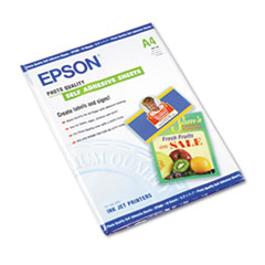 Epson® Photo-Quality Self Adhesive Paper