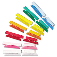 Pendaflex® Transparent Colored Tabs For Hanging File Folders