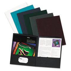 Oxford™ Linen Twin-Pocket Folder Thumbnail