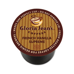 Gloria Jean's® French Vanilla Supreme Coffee K-Cups® Thumbnail