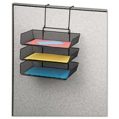 Fellowes® Mesh Partition Additions™ Triple Tray Thumbnail