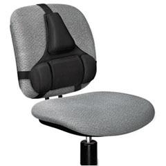 Fellowes® Professional Series Back Support, Memory Foam Cushion, Black