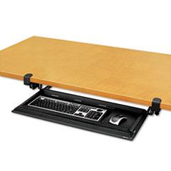 Fellowes® Designer Suites DeskReady Keyboard Drawer, 19-3/16w x 9-13/16d, Black Pearl