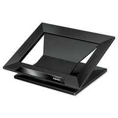 """Fellowes® Designer Suites Laptop Riser, 13.19"""" x 11.19"""" x 4"""", Black Pearl, Supports 25 lbs"""