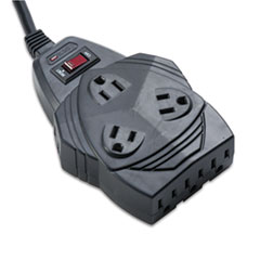 Mighty 8 Surge Protector, 8 Outlets, 6 ft Cord, 1460 Joules, Black