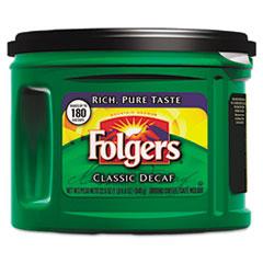 Folgers® Coffee, Classic Roast Decaffeinated, Ground, 22 3/5oz Can