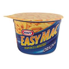Kraft® Easy Mac Macaroni & Cheese, Micro Cups, 2.05oz, 10/Carton