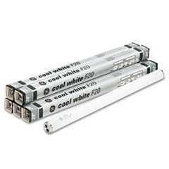"24"" Fluorescent Tubes, 20 Watts, 6/Pack"
