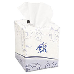 Georgia Pacific® Professional Premium Facial Tissue, 2-Ply, White, Cube Box, 96 Sheets/Box