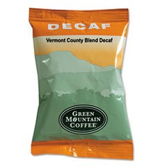 Green Mountain Coffee® Vermont Country Blend Decaf Coffee Fraction Packs, 2.2oz, 50/Carton