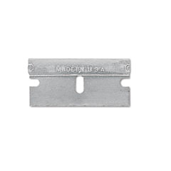 Single Edge Safety Blades for Standard Safety Scrapers, 10/Pack