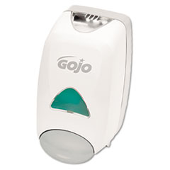"GOJO® FMX-12 Soap Dispenser, 1250 mL, 6.12"" x 5.13"" x 10.5"", Gray/White"
