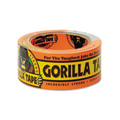"""Gorilla Tape, Extra-Thick, All-Weather Duct Tape, 1.88"""" x 12 yds, 3"""" Core, Black GOR60122"""