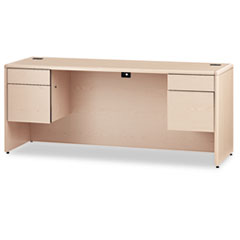 HON® 10700 Series™ Kneespace Credenza with Three-Quarter Height Pedestals