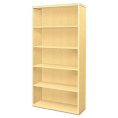 HON® Valido Series Bookcase, Five-Shelf, 36w x 13-1/8d x 71h, Natural Maple