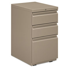 "HON® Flagship® Mobile Box/Box/File Pedestal File with ""R"" Pulls Thumbnail"