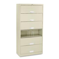 HON® Brigade® 600 Series Six-Shelf File with Receding Doors Thumbnail