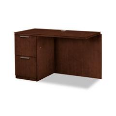 HON® Arrive Series Wood Veneer Return for Single Pedestal Desk