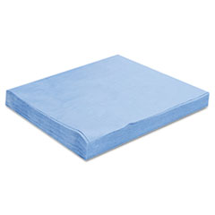 HOSPECO® Sontara EC Engineered Cloths, 12 x 12, Blue, 100/Pack, 10 Packs/Carton