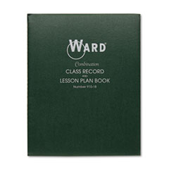 Combination Record & Plan Book, 9-10 Weeks, 8 Periods/Day, 11 x 8-1/2