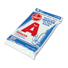 Hoover® Commercial Commercial Elite Lightweight Bag-Style Vacuum Replacement Bags, 3/Pack