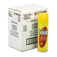 Ecolab® Professional Behold Furniture Polish, Lemon Scent, 16 oz Aerosol Spray, 6/Carton