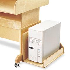 Open CPU Booth, 12w x 19-1/2d x 13-1/2h, Birch