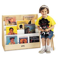 Pick-a-Book Stand, 30w x 16.5d x 27.5h, Birch