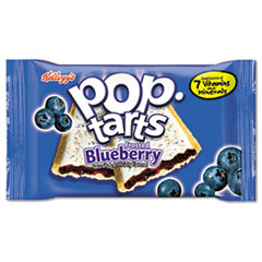 Kellogg's® Pop Tarts, Frosted Blueberry, 2/Pack, 6 Packs/Box