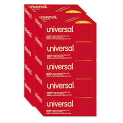 Universal® Paper Clips, Jumbo, Silver, 100 Clips/Box, 10 Boxes/Pack