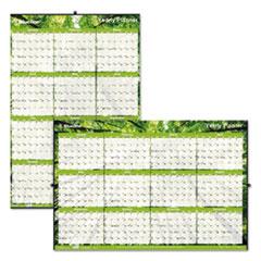 Blueline® Yearly Laminated Wall Calendar Thumbnail