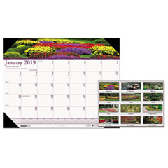 House of Doolittle™ Earthscapes™ 100% Recycled Gardens of the World Monthly Desk Pad Calendar Thumbnail
