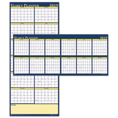 House of Doolittle™ 100% Recycled Reversible Yearly Wall Planner Thumbnail