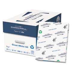 Hammermill® Great White® 50 Recycled Print Paper Thumbnail