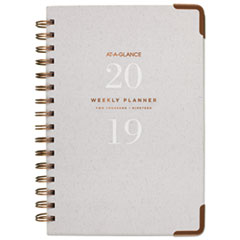 AT-A-GLANCE® Light Gray Wirebound Weekly/Monthly Planners Thumbnail