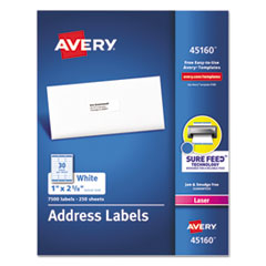 Avery® White Address Labels for Laser Printers Thumbnail
