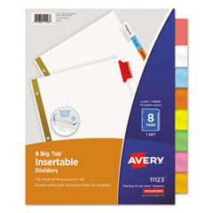 Avery® Insertable Big Tab™ Dividers Thumbnail