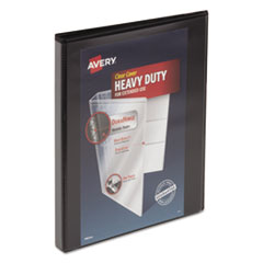 Avery® Heavy-Duty View Binder with DuraHinge® and One Touch Slant Rings