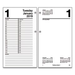 Large Desk Calendar Refill 4 1 2 X 8 White 2019