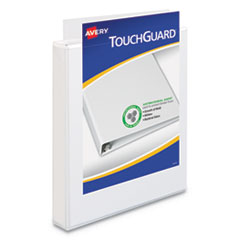 Avery® TouchGuard™ Protection Heavy-Duty View Binders with Slant Rings