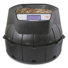 SteelMaster® Coin Counter/Sorter, Pennies through Dollar Coins