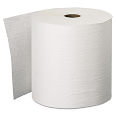 "Scott® Essential Plus Hard Roll Towels, 1.5"" Core, 8"" x 600 ft, White, 6 Rolls/Carton"