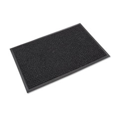 Crown Super-Soaker Wiper Mat with Gripper Bottom, Polypropylene, 36 x 120, Charcoal