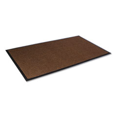 Crown Super-Soaker Wiper Mat with Gripper Bottom, Polypropylene, 36 x 60, Dark Brown