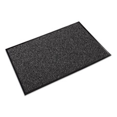 Crown Fore-Runner Outdoor Scraper Mat, Polypropylene, 36 x 60, Gray